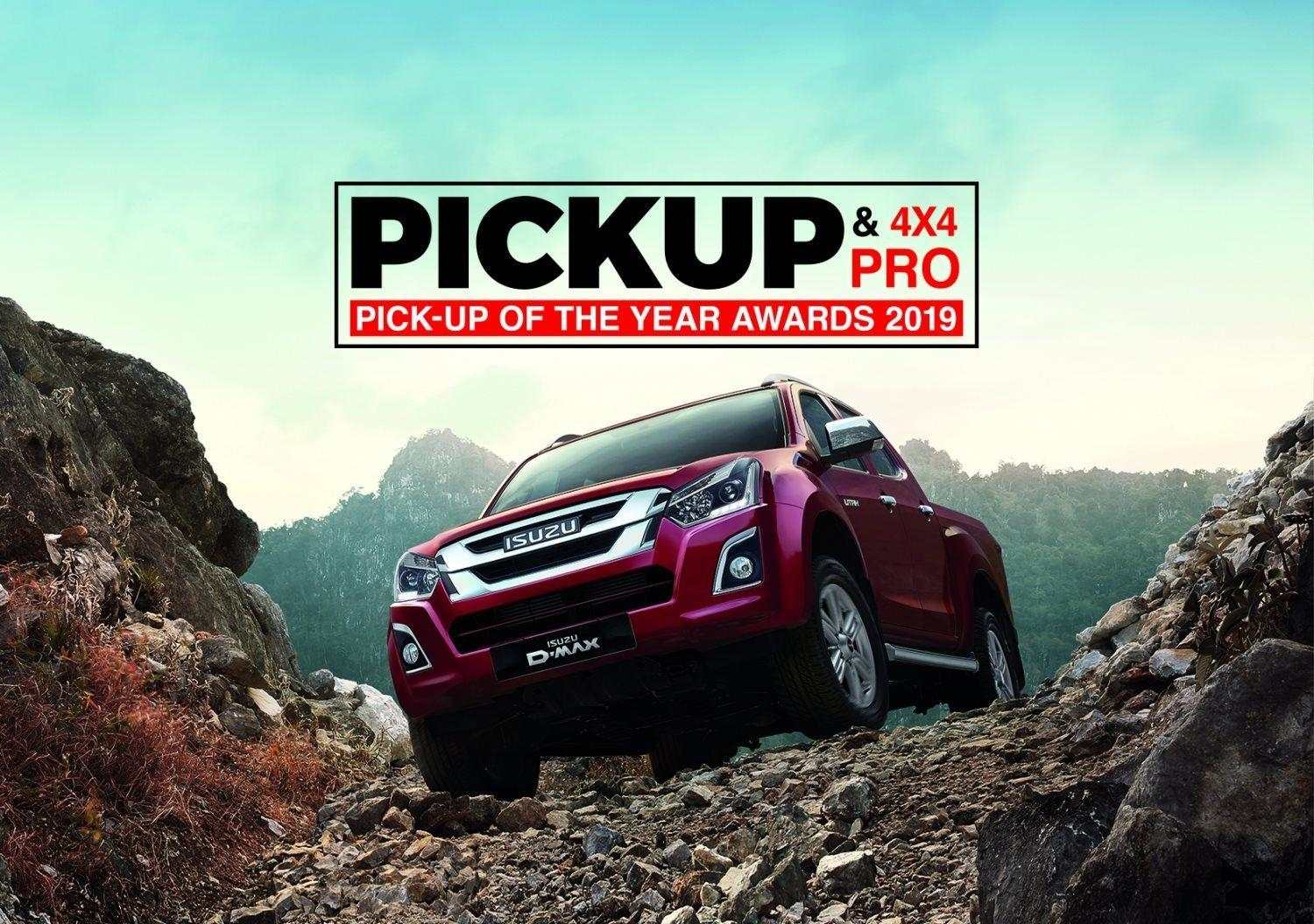 THE ISUZU D-MAX PICKS-UP YET ANOTHER AWARD IN 2019!